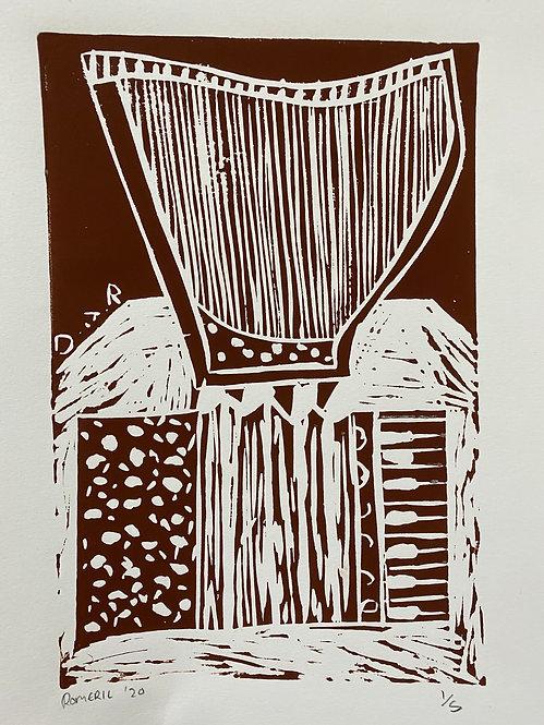 Harp on accordion, 2020