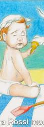 Rossi Ice-cream illustration