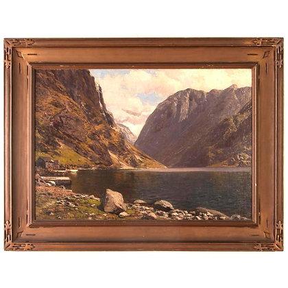 """""""The Fjord"""" by Themistocles Von Eckenbrecher, circa 1913"""