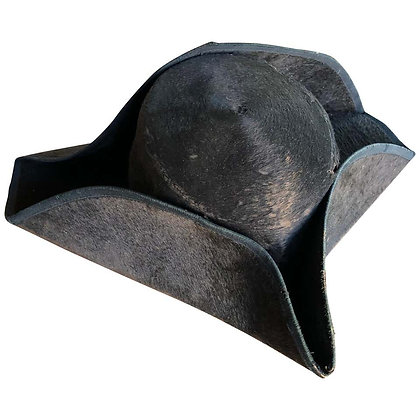Exceedingly Rare 18th Century American Tricorn Hat