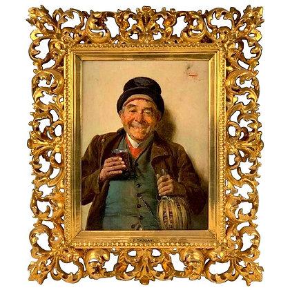 """""""A Good Vintage"""" by Pompeo Massani"""