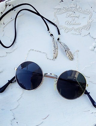 Silver Feather Brillen-/Maskenkette