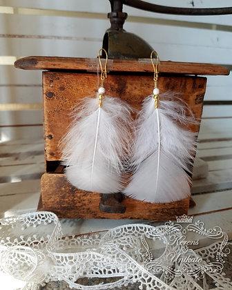 White Beauties Ohrhänger