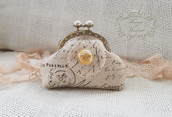 Vintage Elegance Portemonnaie