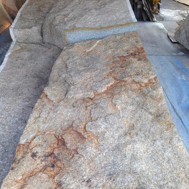 某個人別荘邸内/装飾用擬岩