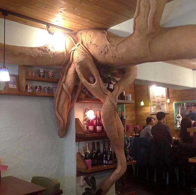 飲食店①/擬木
