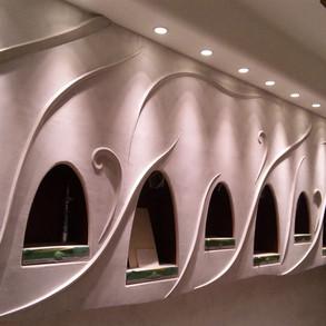 ジュエリーショップ/壁装飾
