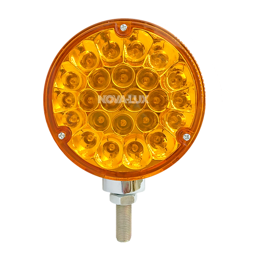 DOUBLE SIDED TURN SIGNAL PEDESTAL LIGHT