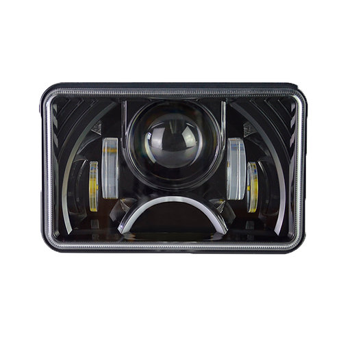 4X6 LED PROJECTION HEADLIGHT BLACK SERIES