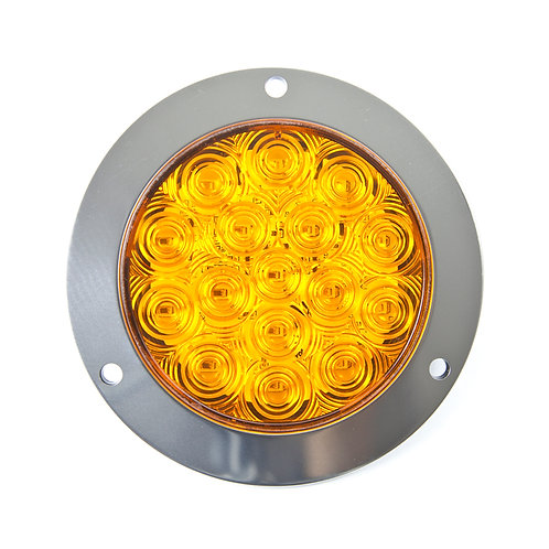 TURN SIGNAL LED LIGHT WITH STAINLESS  FLANGE A/A