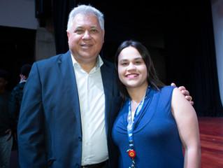 Palestra com Rogério Sariev