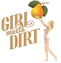Girl Meets Dirt logo and link.