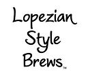 Lopezian Style Brews logo and link.