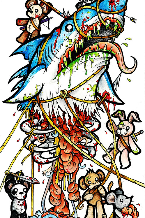 Sharky Print