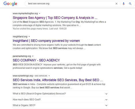 Top seo agency