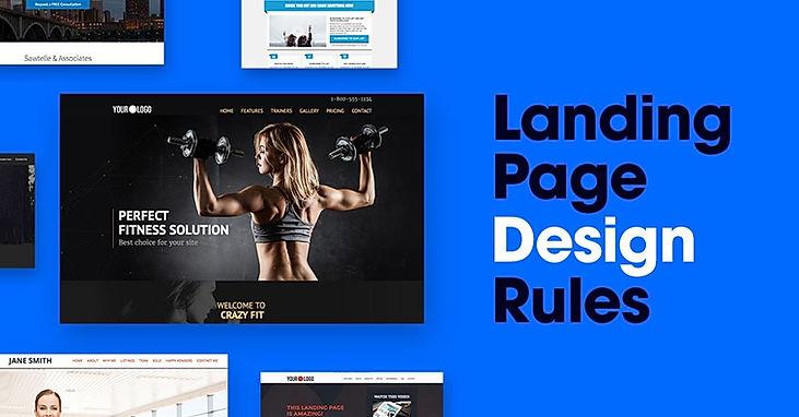 landing page design singapore