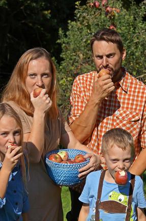 Wir lieben unsere Äpfel!