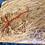 Thumbnail: Large Brown Oak Serving Board - Red Resin Infills