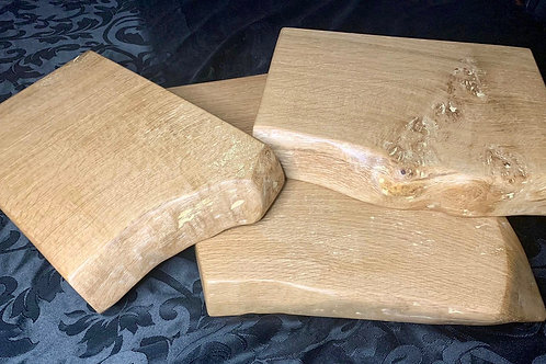 Set of 3 - Solid White Oak Chopping Boards