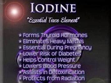 Sea Iodine Capsules 1000mcg 60ct