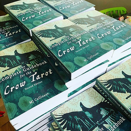 CAW CAW! Look what arrived! #crowtarot.j