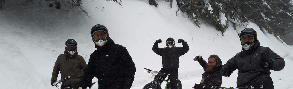 Un groupe nordiste en fat bike