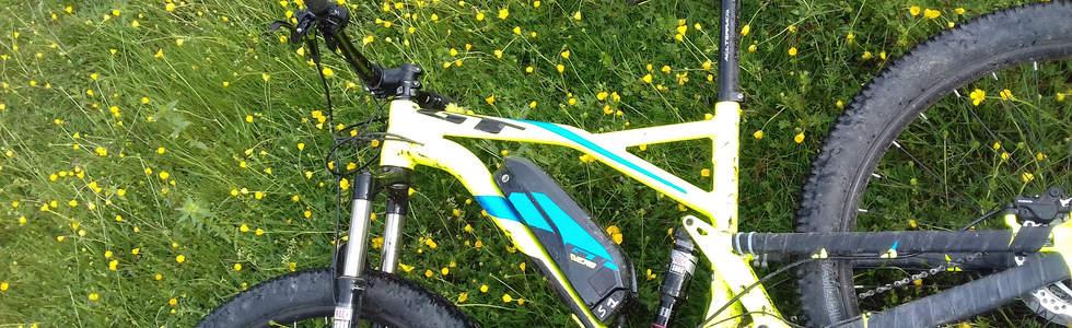 Pause pour mon GT e-bike