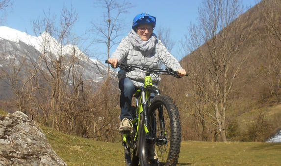 Sortie individuelle avec Luz Bikes Pyrénées - encadrement en VTT