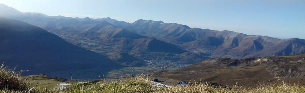 Les vallées des Gaves depuis le Hautacam