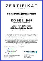 Umweltmanagementsystem Jonasch + Schneider