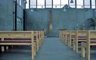 Aussegnungshalle Mögglingen,                                                                                                                                                                                                Bildrechte: Susanne Schlott