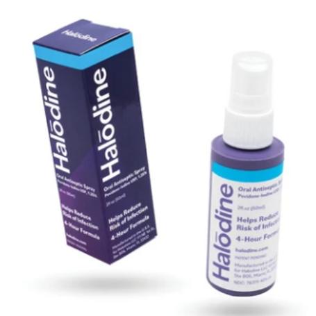 Halodine Antiseptic Oral Spray (2fl oz)