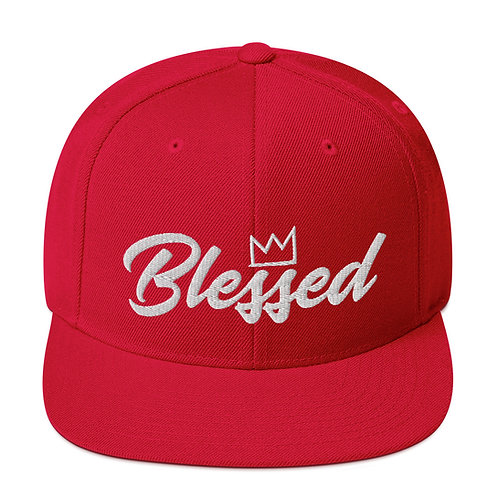 Blessed (3D Puff) Snapback Hat