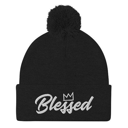 Blessed || Pom-Pom Beanie