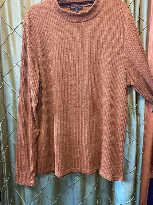 Mustard Ribbed Long Sleeve