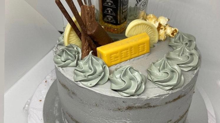 Personalised Decorated Cake