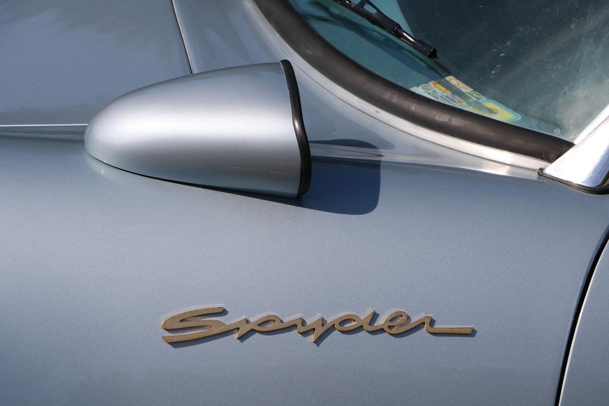 Porsche Spyder 550 replica
