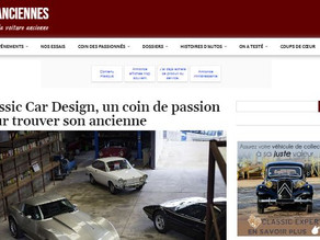 Making-of Part I : News d'Anciennes chez ClassicCarDesign