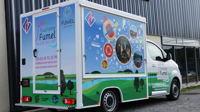 Office de tourisme mobile Fumel