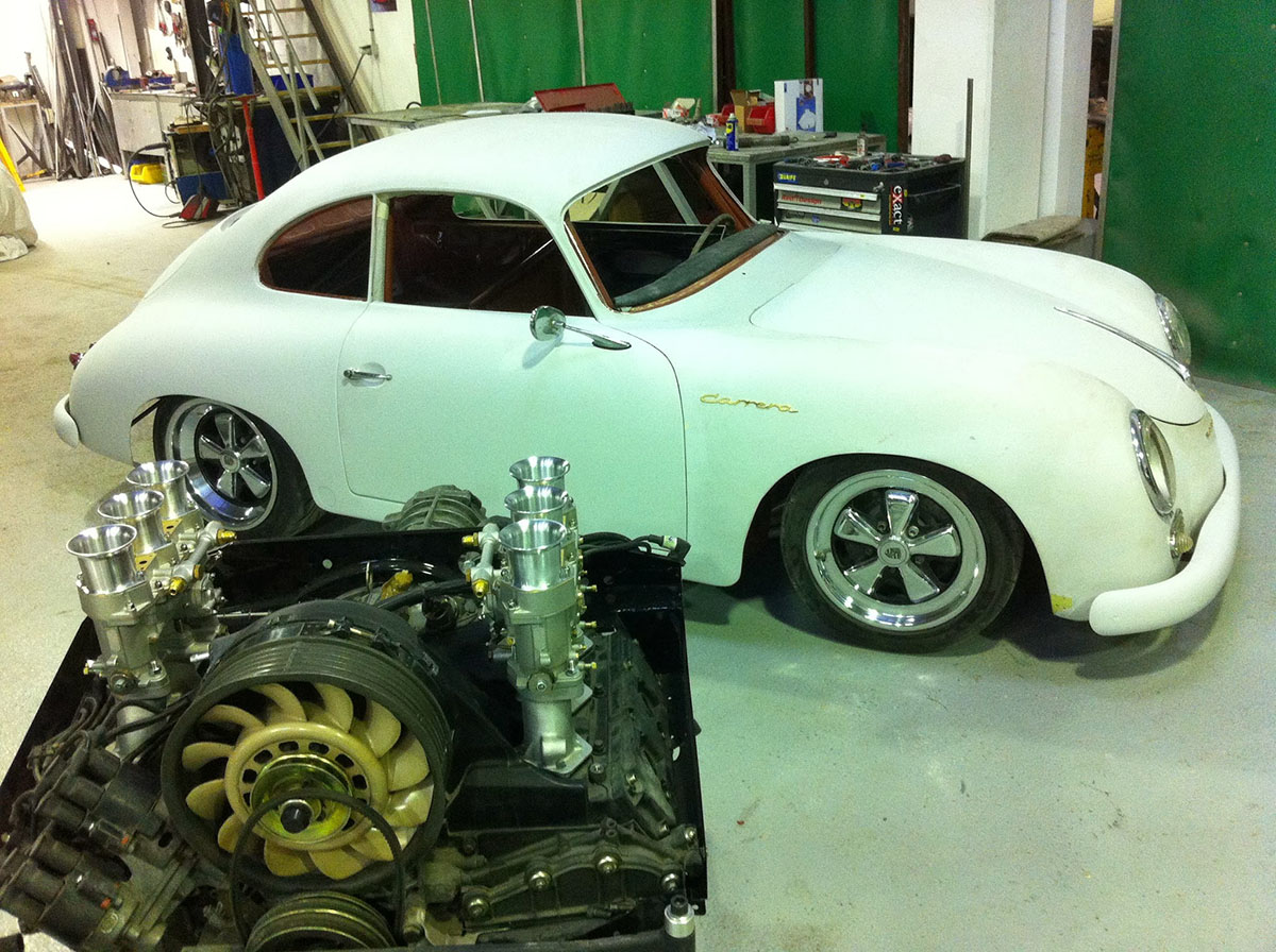 Porsche 356 AT2 outlaw
