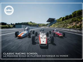 Classic Racing School + Classic Car Design = Passion²