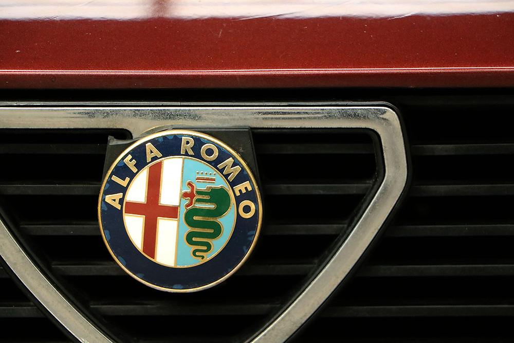 LOGO ALFA ROMEO GTV