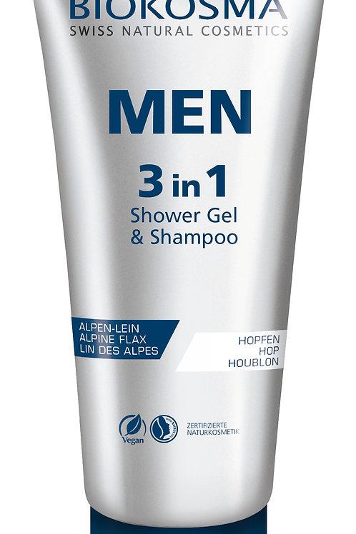 MEN 3IN1 SHOWER GEL & SHAMPOO (200ml)