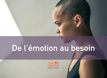 De l'émotion au besoin