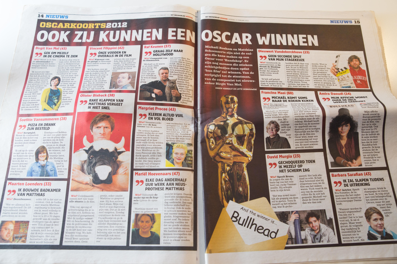 Het Nieuwsblad (25 feb 2012)