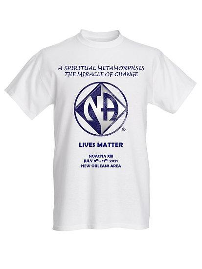 NA Lives Matter Male T-Shirt