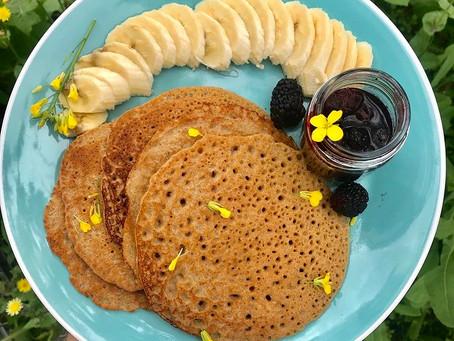 Spiced Gluten-Free Pancakes!