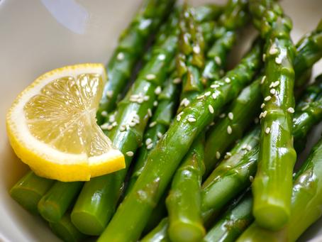 Easy Asparagus w/ Ponzu Sauce