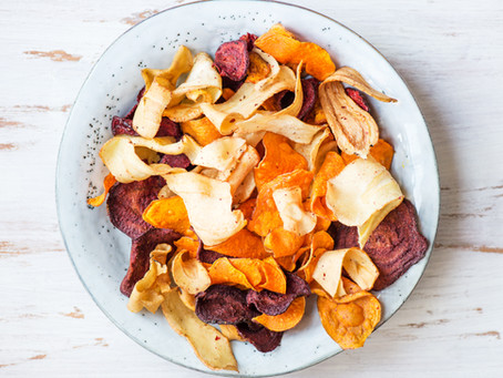 Baked Vegetable Chips