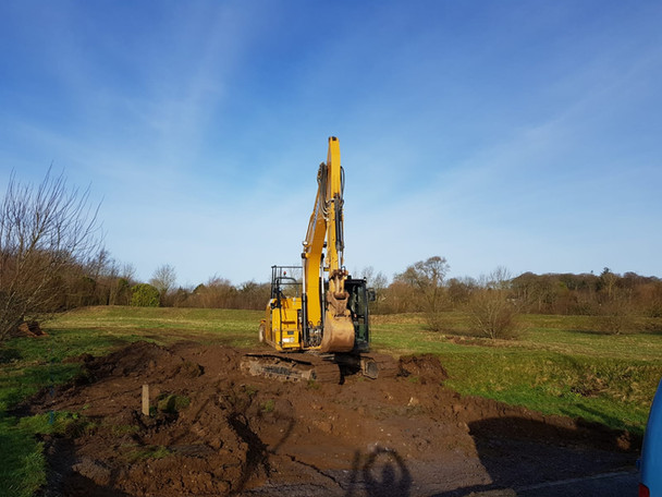 Work begins on our new Head Office in Llangefni